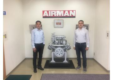 Менеджера Компании Ас-Ай прошли обучение в Японии, на заводе AIRMAN!