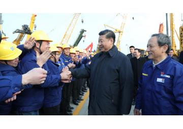 Президент Китая Си Цзиньпин посетил один из крупнейших заводов XCMG