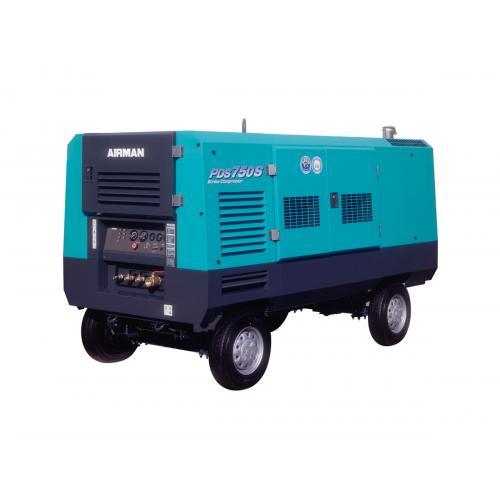 Дизельный компрессор PDSJ750S-4B2