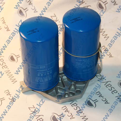 Крепление топливного фильтра бульдозера 612600081334