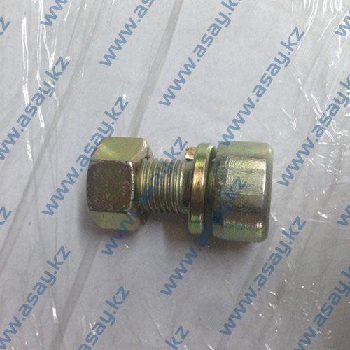 Болт с гайкой заднего колеса вилочного погрузчика В4123-00016 В5050-00016